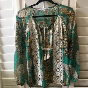 Collective concepts blouse | size M | green